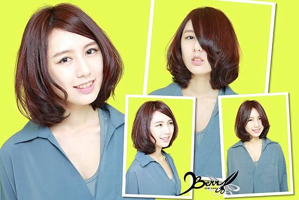 【2015春夏髮型髮色】甜美蜜桃橘 (8)