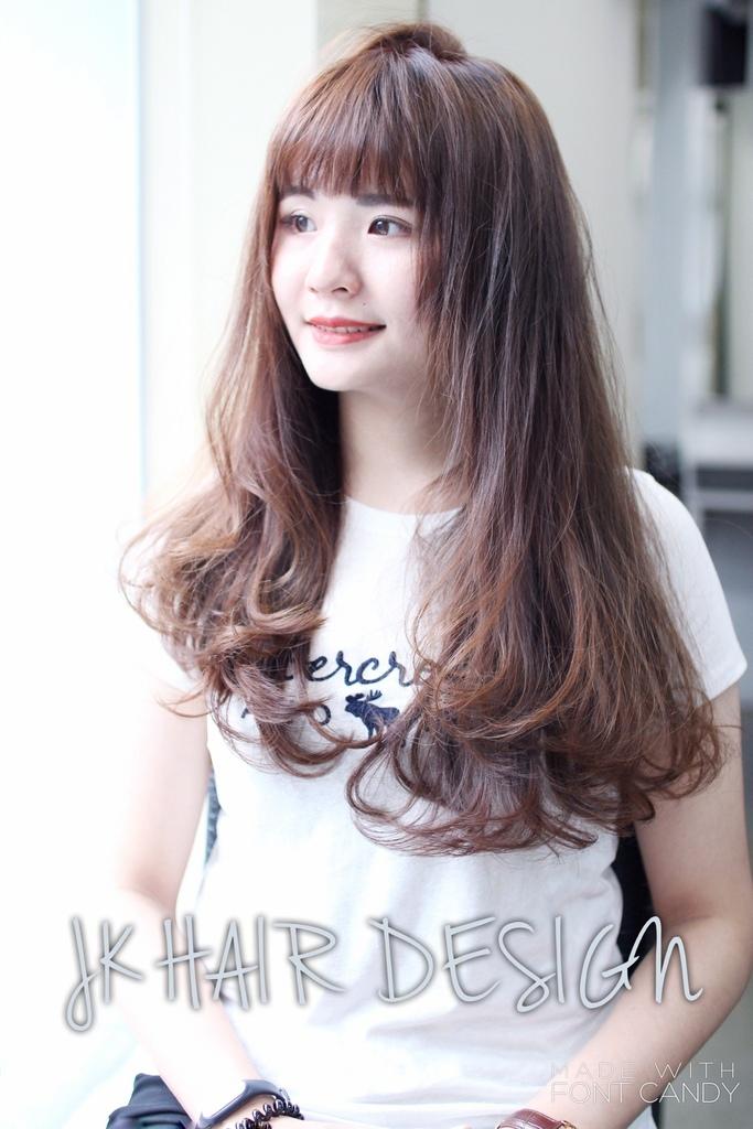 尚洋成都店技術團隊髮型髮色作品-設計師 J.K