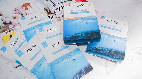 【新品介紹】一起感受濟洲熔岩海水的 200%保濕力~~!!OLAY全新韓國製「香檳海水面膜」 ...