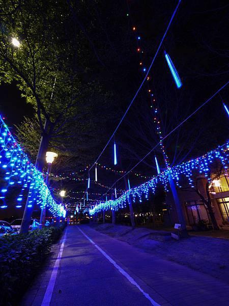 20121222 南科宿舍區聖誕裝飾
