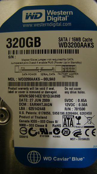 WD320