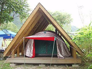 我家的帳篷