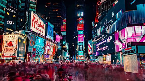 new-york-city-night-skyscrapers-people-timelapse-time-square-city-9739