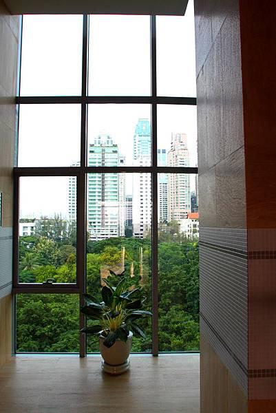 飯店內處處是景色