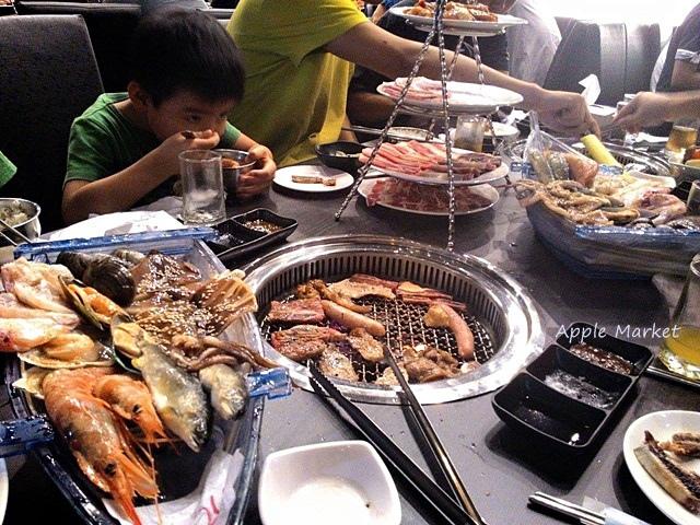 1432450016 1218867222 - 可汗燒烤@雙人套餐燒烤肉多海味鮮 菜色豐富份量足 可以吃得無敵飽(已歇業)