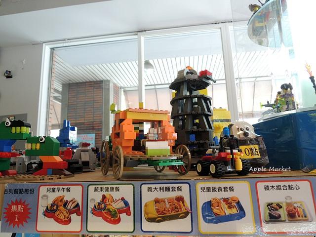1440768036 1941790383 - 瑪客思廚房@台中親子餐廳推薦 不只有樂高積木可以玩 還有樂高積木兒童餐(已歇業)