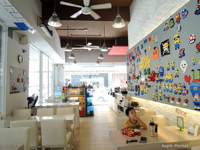 1440768036 3167743871 - 瑪客思廚房@台中親子餐廳推薦 不只有樂高積木可以玩 還有樂高積木兒童餐(已歇業)