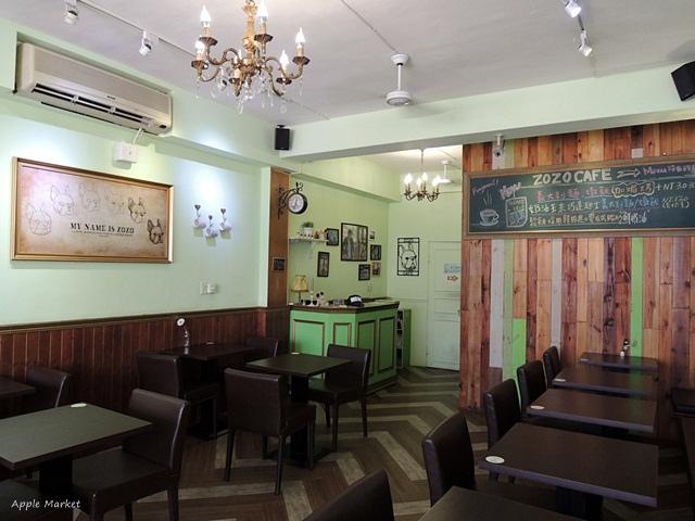 1448430075 2800449427 - zozo cafe@一中商圈平價義式咖啡館 滿店可愛的卡通鬥牛犬 免費wifi 義大利麵燉飯鬆餅甜點(已歇業)