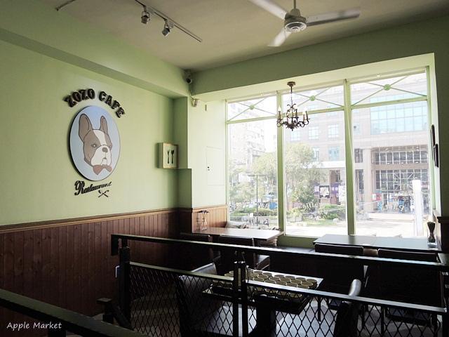 1448430786 2894112361 - zozo cafe@一中商圈平價義式咖啡館 滿店可愛的卡通鬥牛犬 免費wifi 義大利麵燉飯鬆餅甜點(已歇業)