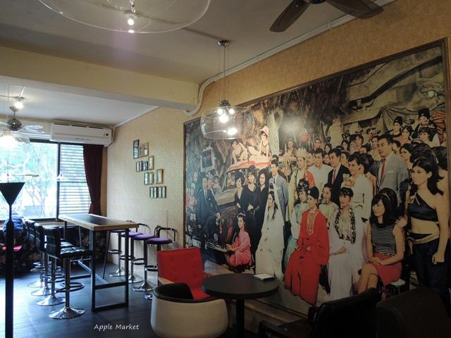 1451788978 2618545620 - 幕比電影主題咖啡@科博館植物園旁平價早午餐 80元起還附沙拉和飲品 上海懷舊風格香港電影黃金時期的主題咖啡館