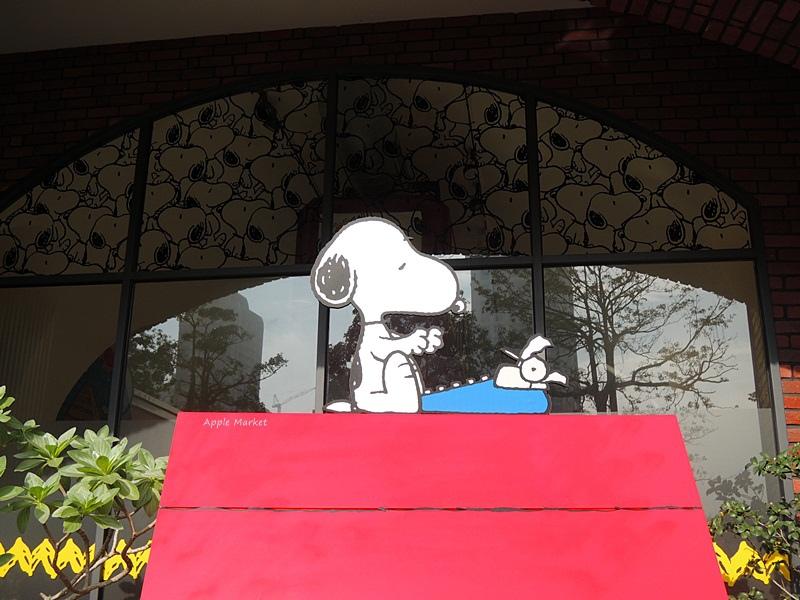 1452141214 2897888400 - 查理布朗咖啡Charlie Brown Café@萬國旅行風格台中店 真實感受漫畫人物的歡樂氣氛 大人小孩都喜歡
