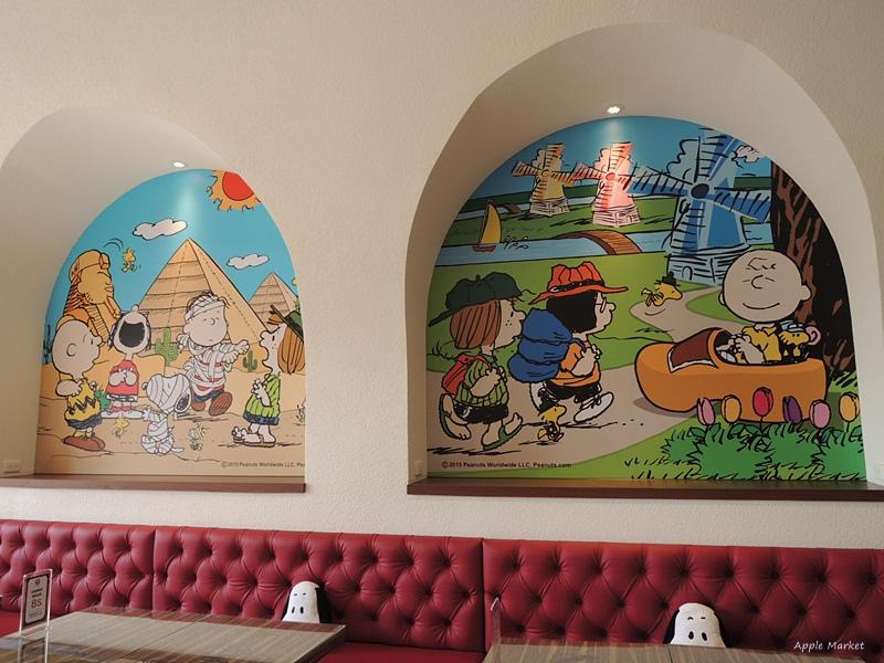 1452141214 331458029 - 查理布朗咖啡Charlie Brown Café@萬國旅行風格台中店 真實感受漫畫人物的歡樂氣氛 大人小孩都喜歡