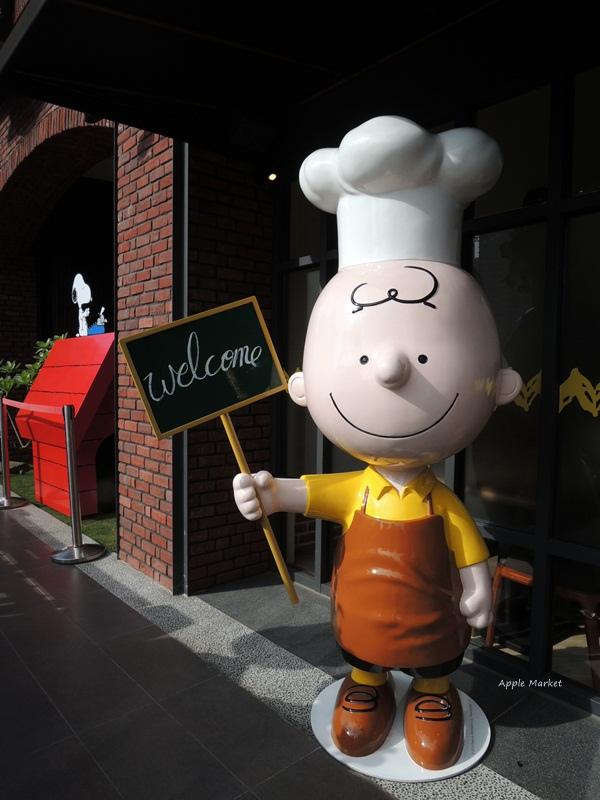 1452141214 3638664901 - 查理布朗咖啡Charlie Brown Café@萬國旅行風格台中店 真實感受漫畫人物的歡樂氣氛 大人小孩都喜歡