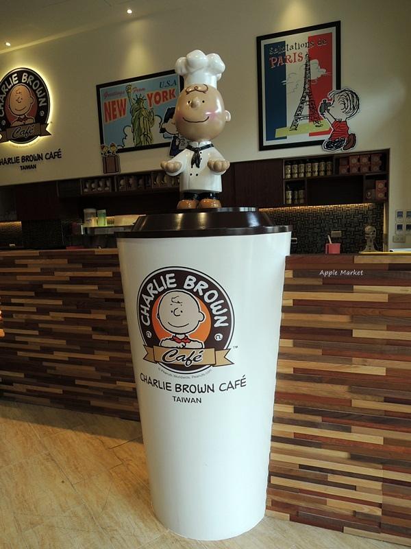 1452156196 613942712 - 查理布朗咖啡Charlie Brown Café@萬國旅行風格台中店 真實感受漫畫人物的歡樂氣氛 大人小孩都喜歡