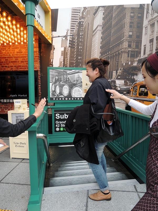 格蘭菲迪 Glenfiddich@台中草悟道旁的1963-New York時代風華 格蘭菲迪Bar 免費品飲格蘭菲迪15年 打卡還送shot杯