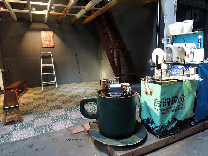 1455330083 1381013420 - 奉咖啡@隱身美術園道旁市場內的咖啡館 忠信市場內的特色小聚落 還有許多神秘店家
