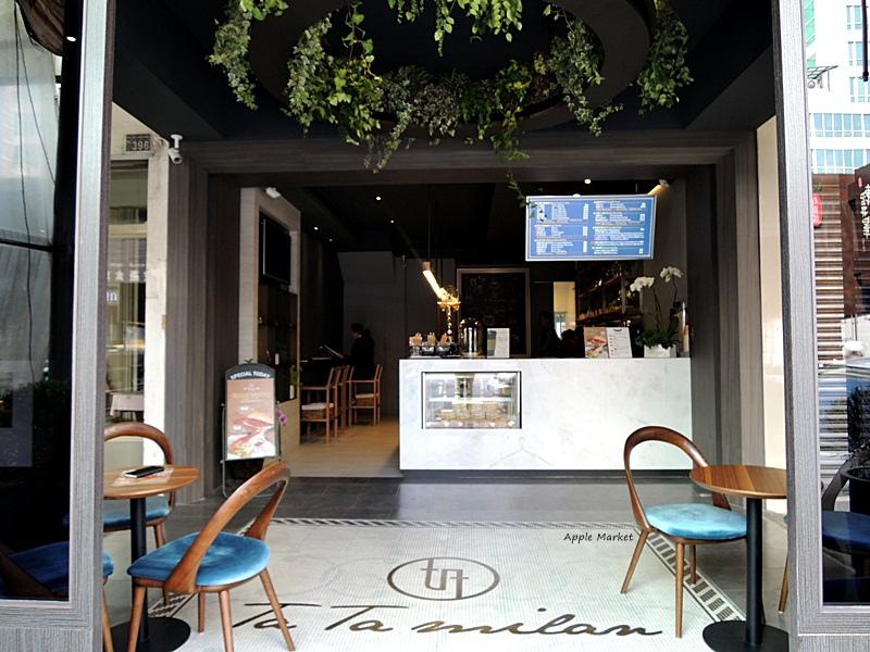 踏米蘭Ta Ta Milan@高質感外帶咖啡館 空間小而時尚有格調 有搶眼吸睛的專業冰滴咖啡和好喝花茶 還有輕食義式堡