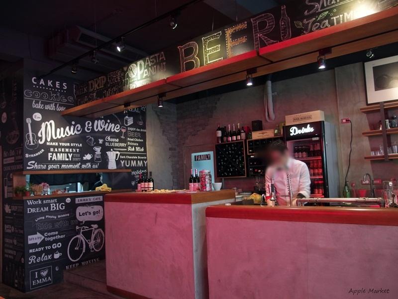 1458535855 3199494142 - Emma's CAFE@巷弄工業風格咖啡餐酒館 香蒜好腿排義大利麵風味出人意料 中高價早午餐義式飯麵
