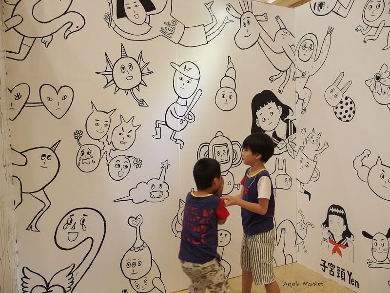 1467274251 1290081495 - 中友百貨創意設計展 集結國內知名人氣插畫家創意圖文作品 和生動有趣又搞笑的插畫合影留念 週末還有插畫家們的見面會 即日起至7/11止 活動展期有兩週喔