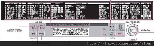 日文選單與面板