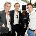 TH-the evian 'Live young' VIP Suite at Wimbledon on June 25, 2012 in London