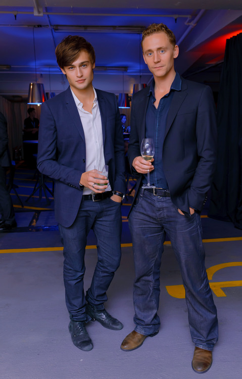 Douglas Booth and Tom Hiddleston