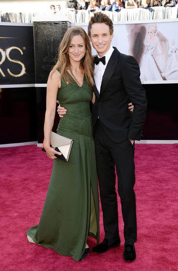 Eddie-Redmayne-Hannah-Bagshawe-Oscars-2013
