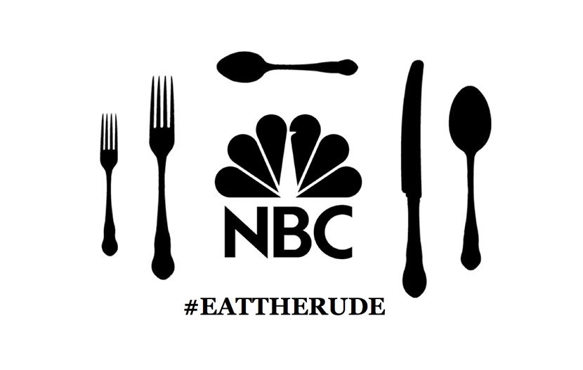 NBC Mailing Campaign #EATTHERUDE
