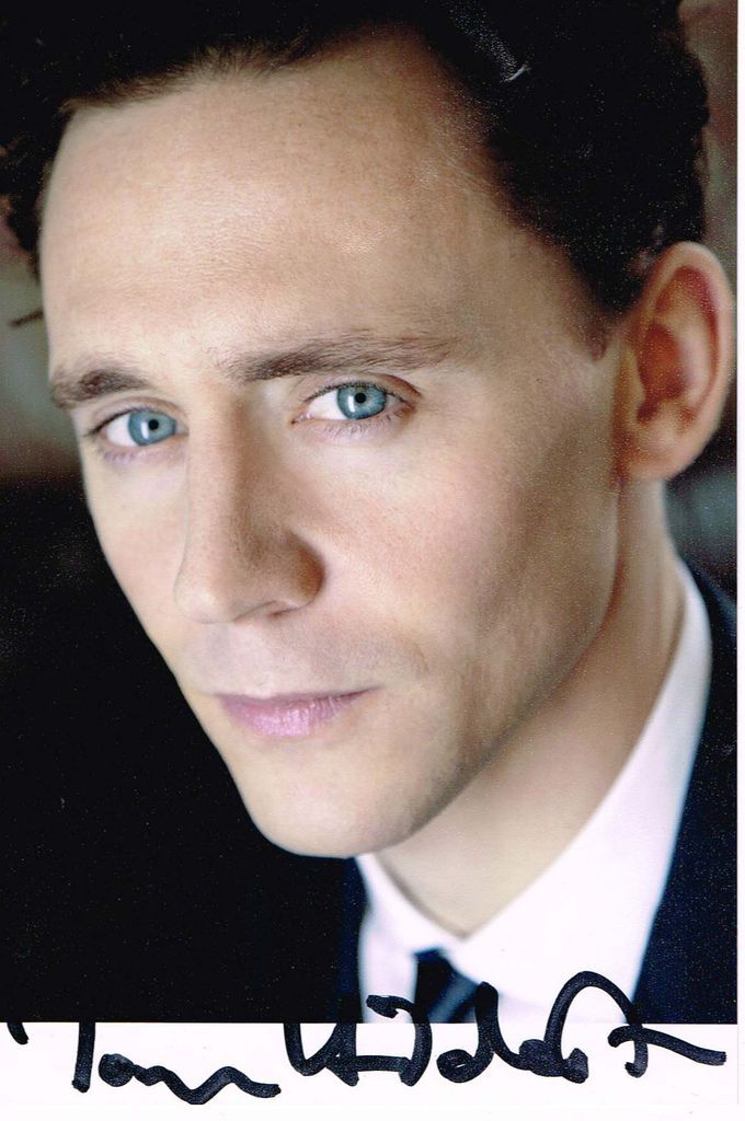 Signed Tom Hiddleston