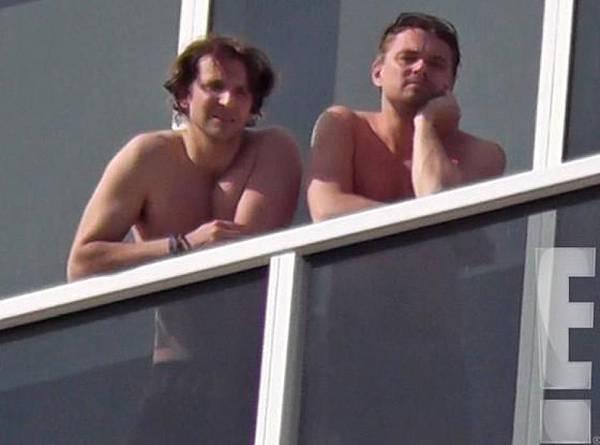 Bradley-Cooper-Shirtless-Leonardo-DiCaprio