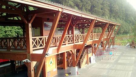 阿里山火車站二樓