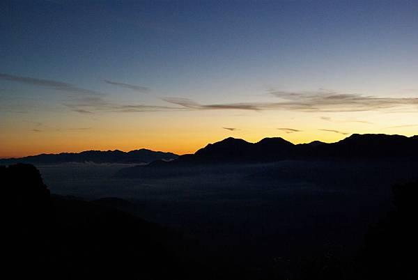 阿里山雲海&日出