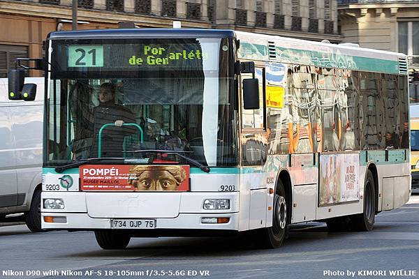 Lion's City 12m - NL223 - RATP - 2006 - 9203