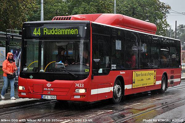Lion's City 12m - NL243 CNG - Keolis - 2009 - 7433