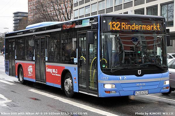 Lion's City 12m - NL273 - MVG - 2008 - 4212