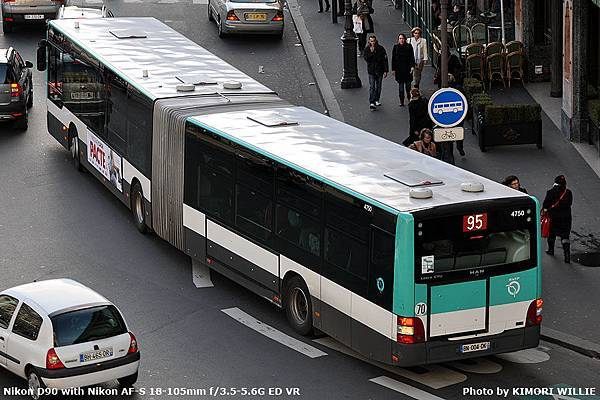 Lion's City G 18m - G - RATP - 2011 - 4750