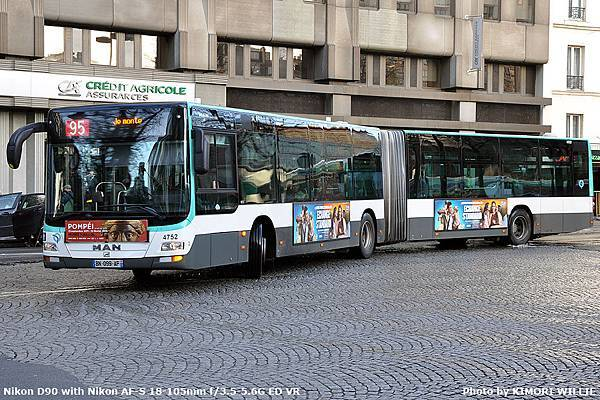 Lion's City G 18m - G - RATP - 2011 - 4752
