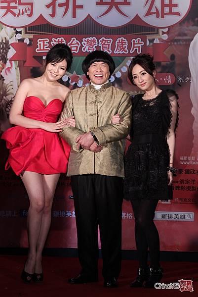 美麗的天使:劉品言出席雞排英雄首映會 [照片來源:Yes娛樂]