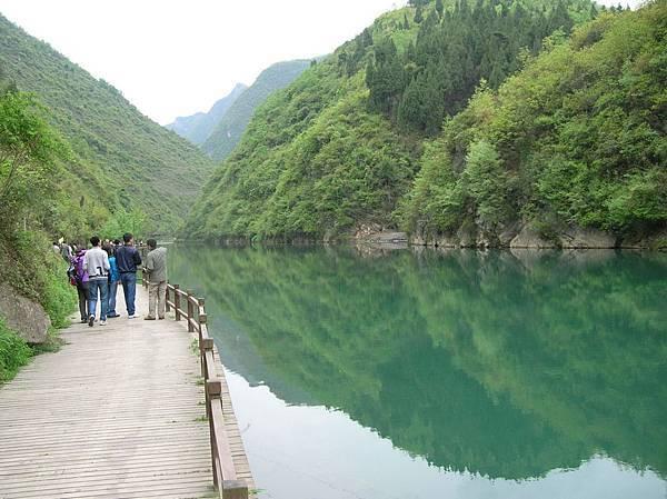 陝南燕翔洞的河水2612