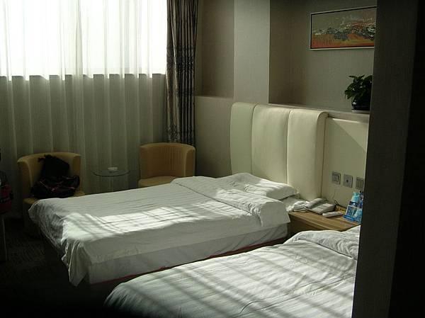 DSCN2784西安鼓樓一家旅館的房間