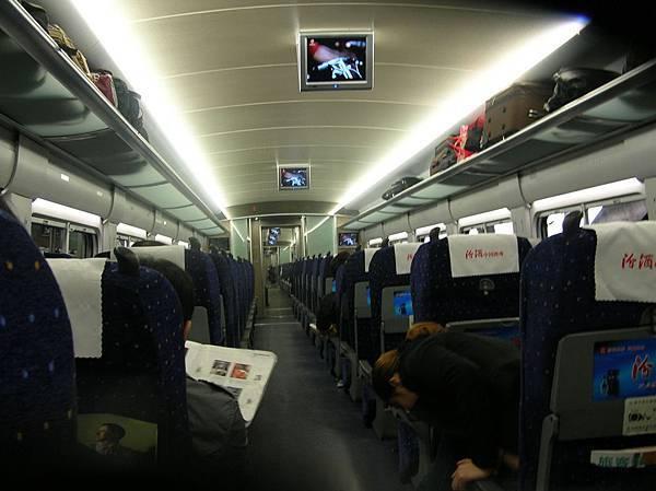 DSCN2893西安-鄭州間的高速火車