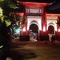三峽河上的長福橋橋門夜景.jpg