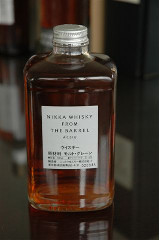 Nikka from the barrel.JPG
