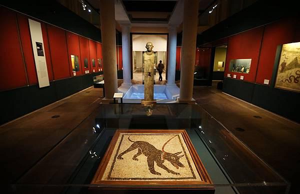 今年3月26日,《龐貝和赫庫蘭尼姆的生與死》在倫敦大英博物館開展,展覽將持續到9月29日。(圖/Peter Macdiarmid/Getty Images)