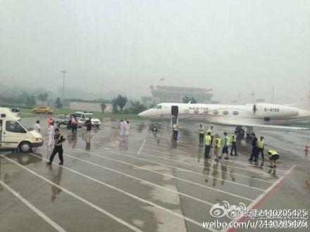 首都機場一名環衛工人電擊死亡。(