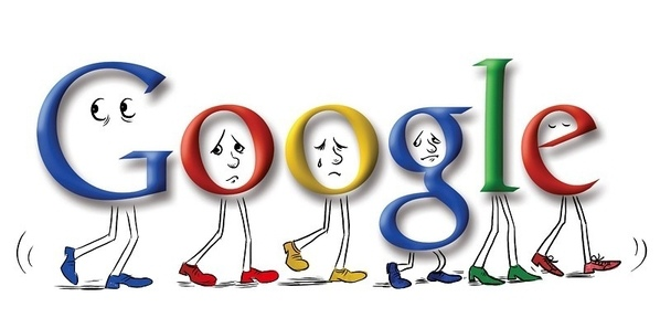 網路巨擘谷歌(Google)搜尋、郵件、YouTube等網路服務於16日下午當機中斷約5分鐘,全球網路流量銳減約40%,(大紀元資料圖片)