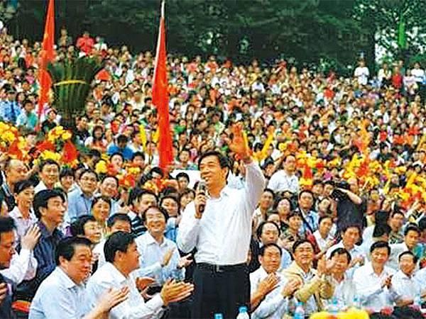 曾任重慶市市委書記的薄,希望能再為重慶百姓服務。