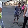 網上曝光了搶嬰男子的照片。(網絡圖片)