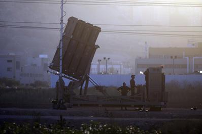 以色列與美國地中海聯合測試導彈 敘局勢緊繃