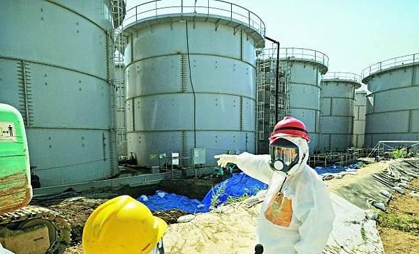福島第一核電廠的輻射洩漏有擴大迹象,部份核輻射污水流入太平洋。資料圖片